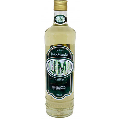Cachaça Ouro 700ml João Mendes garrafa UN