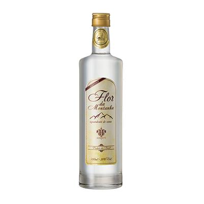 Cachaça Prata garrafa 700ml Flor da Montanha UN