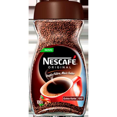 Café solúvel original 100g Nescafé/Original vidro UN