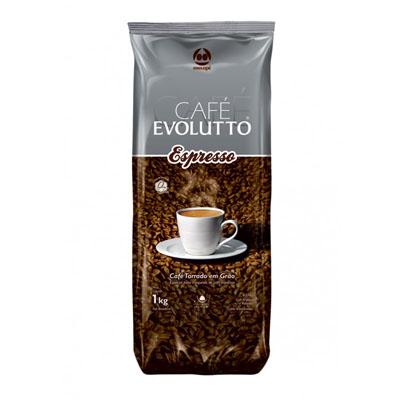 Café torrado em grãos expresso almofada 1kg Evolutto UN