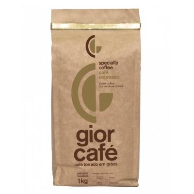 Café torrado em grãos gourmet almofada 1kg Gior Café UN