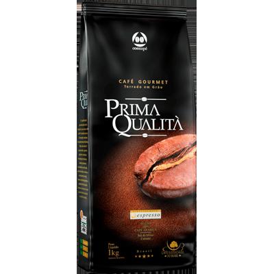 Café torrado em grãos gourmet almofada 1kg Prima Qualitá UN