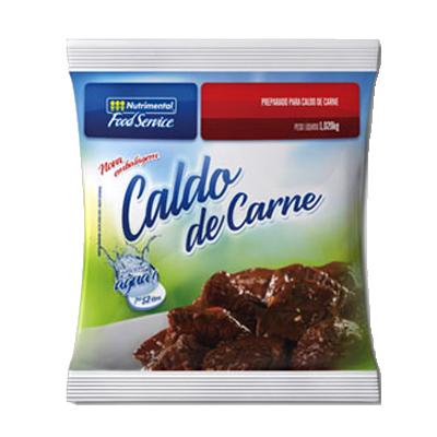 Caldo de Carne  1,02Kg Nutrimental pacote PCT