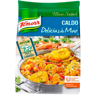 Caldo de Frutos do Mar delicias do mar 1,01kg Knorr pacote PCT