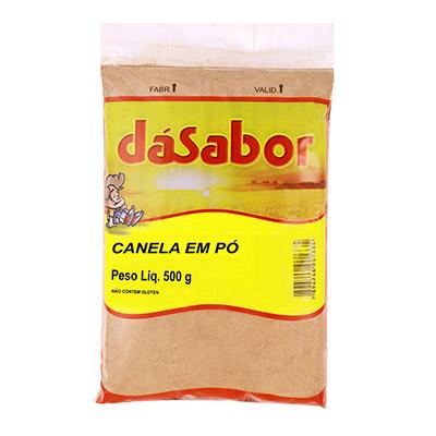 Canela em pó 500g DáSabor pacote PCT