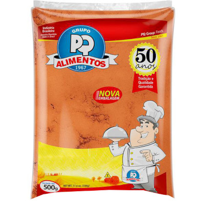 Canela em pó 500g PQ Alimentos pacote PCT