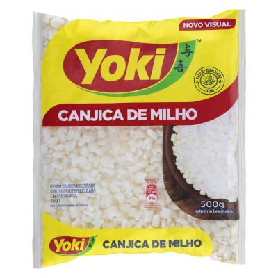 Canjica de milho 500g Yoki pacote PCT
