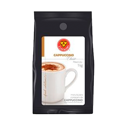 Cappuccino  1kg 3 Corações/Classic pacote UN