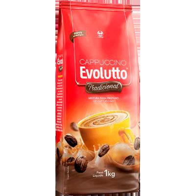 Cappuccino pacote 1kg Evolutto PCT