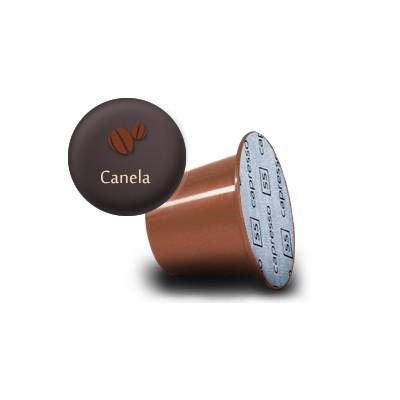 Cápsulas de Café canela para máquina nespresso 10 unidades de 4g Capresso Gourmet caixa CX