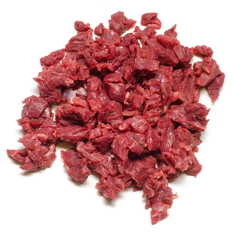 Carne Bovina resfriada em iscas por Kg Chef Meat KG