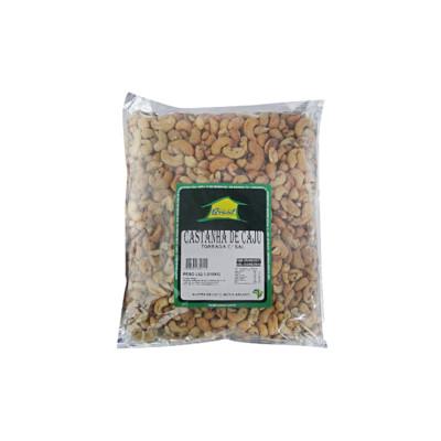 Castanha de Cajú triturada xerém por kg Brasilseco pacote KG