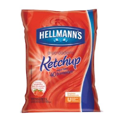 Ketchup Tradicional 2,1kg Hellmann's bag UN