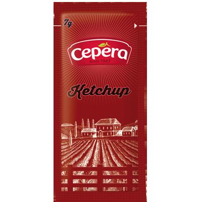 Ketchup Tradicional unidades de 6/9g Cepêra em sachês UN