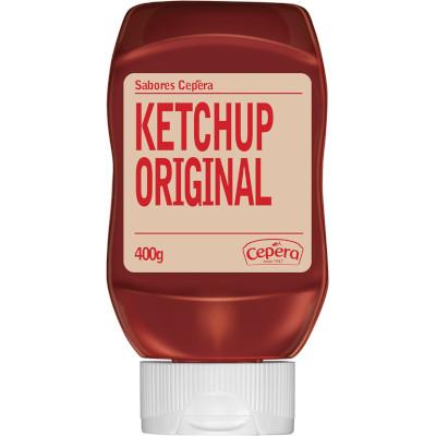 Ketchup Original 400g Cepêra frasco UN