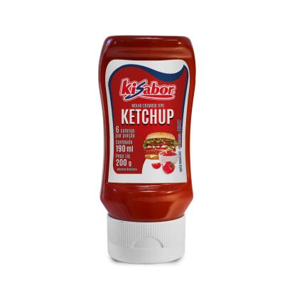 Ketchup Tradicional 200g KiSabor pet UN