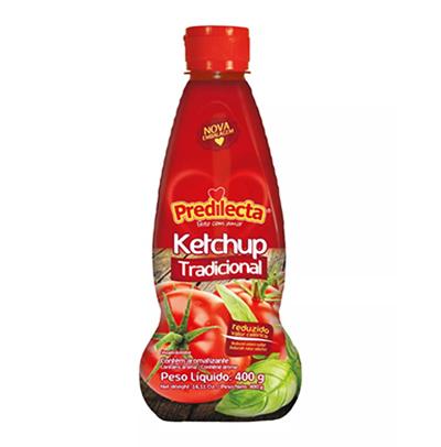 Ketchup Tradicional 400g Predilecta frasco UN