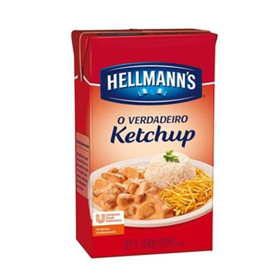 Ketchup Tradicional (de 950g a 1,1kg) Hellmann's Tetra Pak UN
