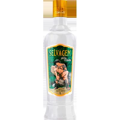 Catuaba piña colada 900ml a 1Litro Selvagem garrafa UN