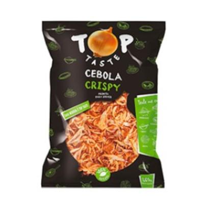 Cebola crispy 1kg Dois Cunhados pacote PCT