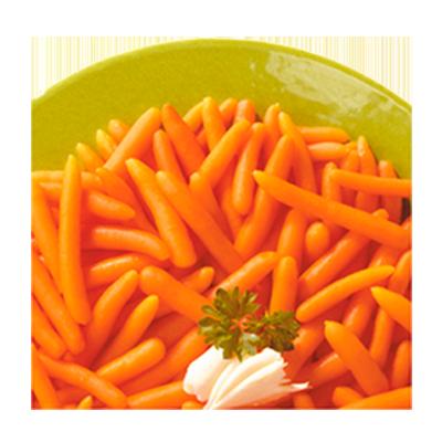 Cenoura baby congelada pacote 2,5kg Daucy PCT