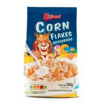 Cereal Matinal de flocos de milho com açúcar 500g KiCereal pacote UN