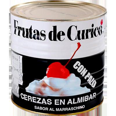 Cereja Marrasquino com cabo lata 1,65kg Curico UN