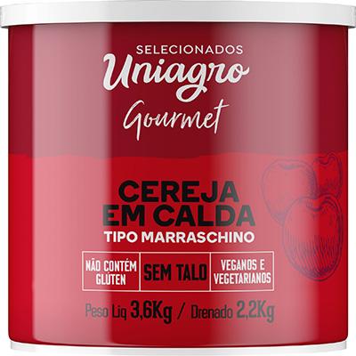 Cereja Marrasquino 2,2kg Uniagro lata UN