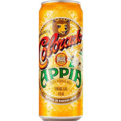 Cerveja appia 410ml Colorado lata UN