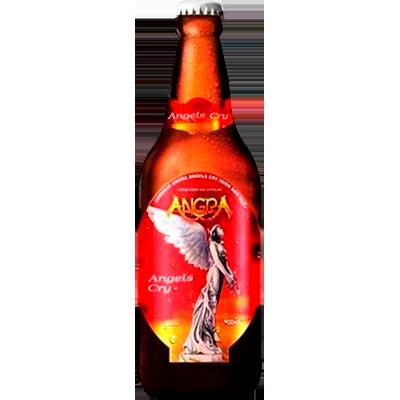 Cerveja artesanal Angra Red Ale -Angels Cry garrafa não retornável 600ml Quinta Do Malte UN