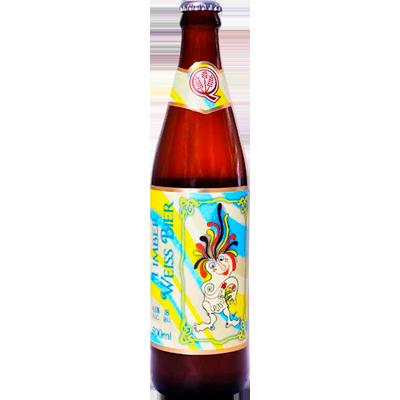 Cerveja artesanal Timber Weiss 500ml Quinta Do Malte garrafa não retornável UN