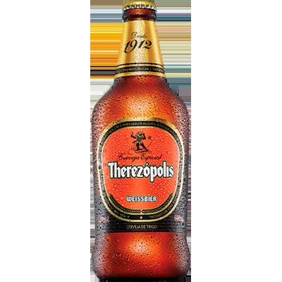 Cerveja artesanal Weissbier garrafa não retornável 600ml Therezópolis UN