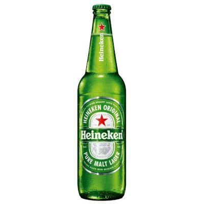 Cerveja  600ml Heineken garrafa não retornável UN