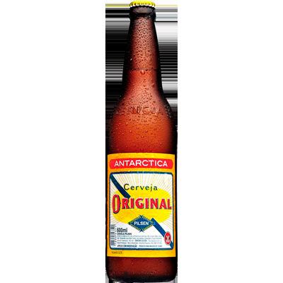 Cerveja  600ml Original garrafa não retornável UN