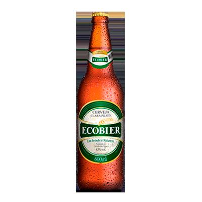 Cerveja garrafa retornável 600ml Ecobier UN