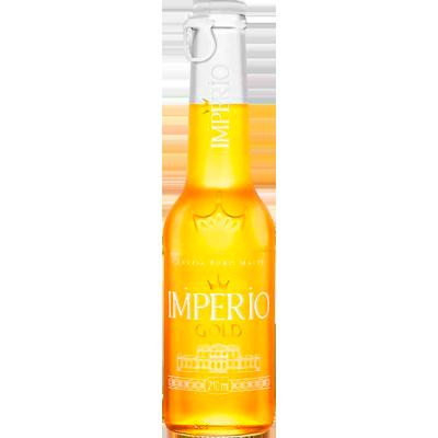 Cerveja Gold Puro Malte 210ml Império long neck UN