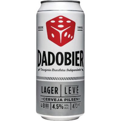 Cerveja Lager Leve 473ml Dadobier lata UN