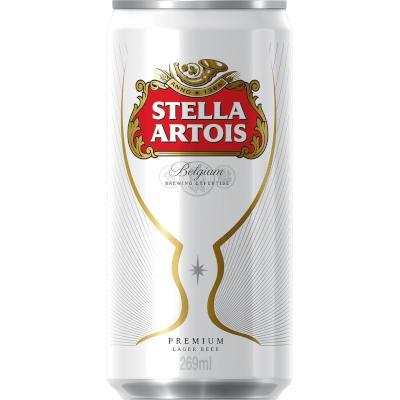 Cerveja  269ml Stella Artois lata UN