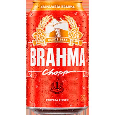 Cerveja  350ml Brahma lata UN