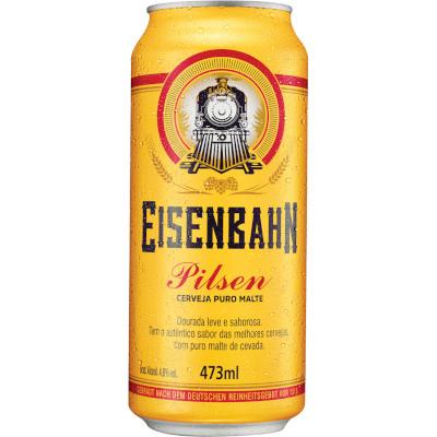 Cerveja  473ml Eisenbahn lata UN