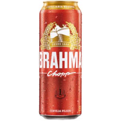 Cerveja  550ml Brahma lata UN