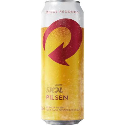 Cerveja  550ml Skol lata UN