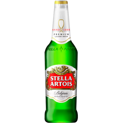 Cerveja  275ml Stella Artois long neck UN