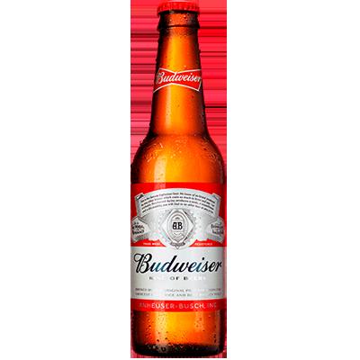 Cerveja  330ml Budweiser long neck UN