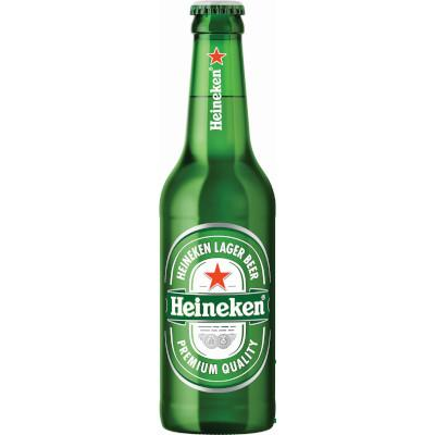 Cerveja  330ml Heineken long neck UN