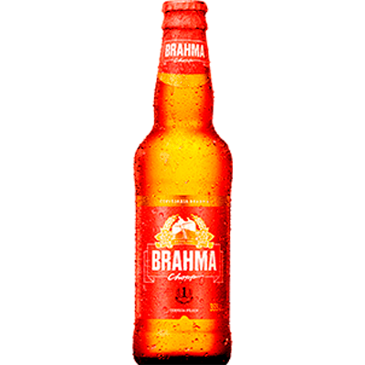 Cerveja  355ml Brahma long neck UN