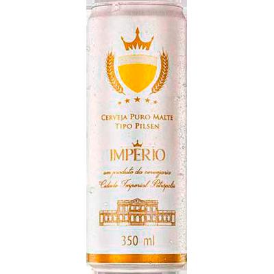 Cerveja Puro Malte 350ml Império lata GL