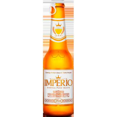 Cerveja Puro Malte 275ml Império long neck UN