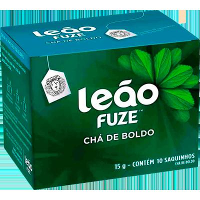 Chá de Boldo 15g (10 sachês) Leão caixa CX