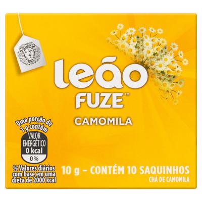 Chá de Camomila 10g (10 sachês) Leão caixa CX